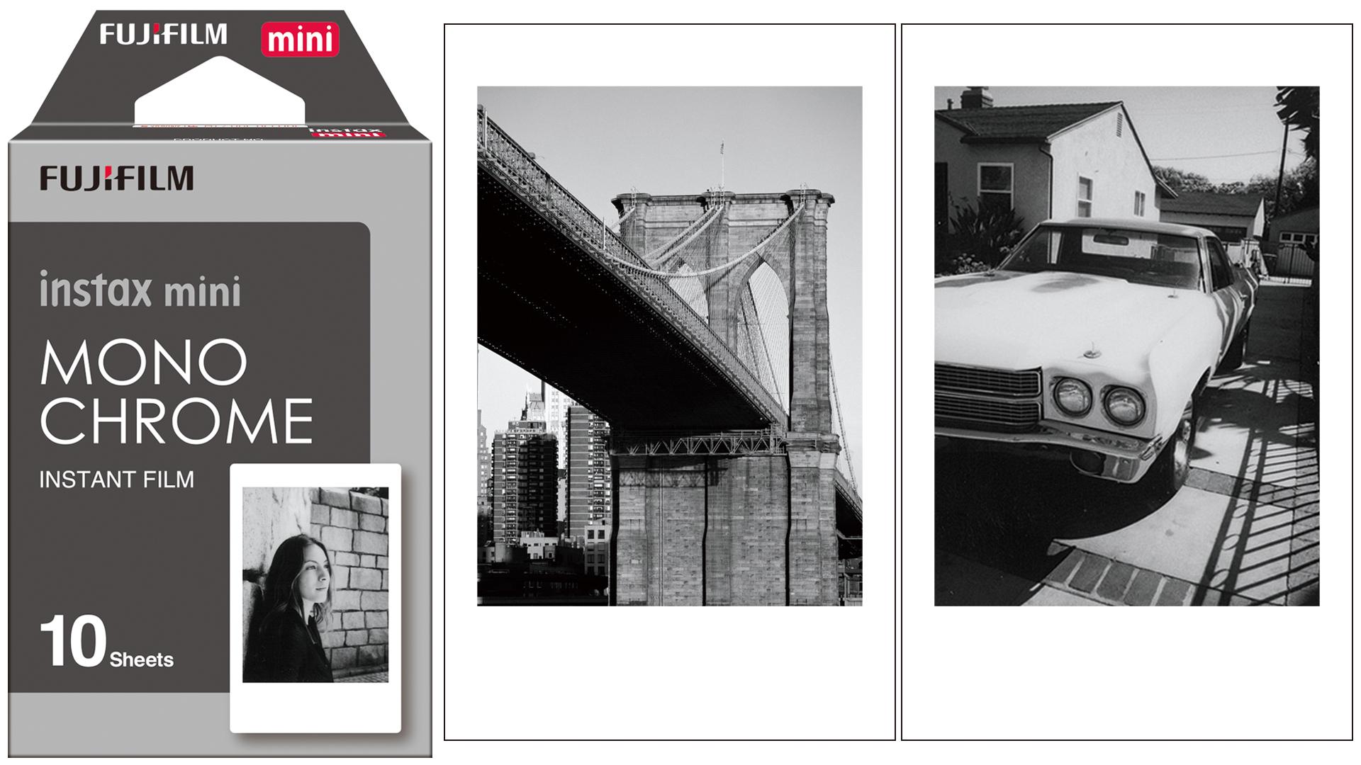 FujiFilm Unveils Instax Mini Monochrome