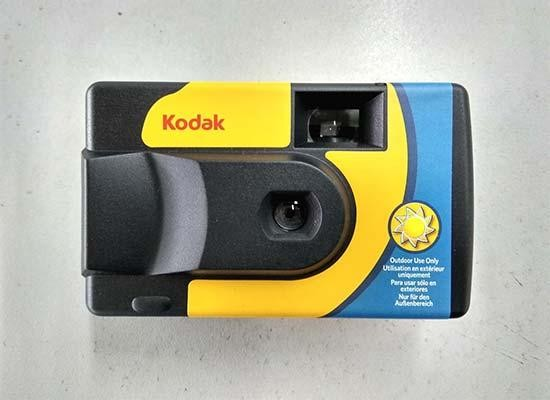 Kodak Release New Daylight Disposable Camera Without Flash
