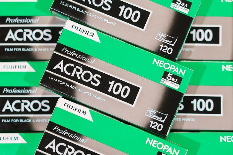 Valē Neopan ACROS, Fuji's Last Black & White Film