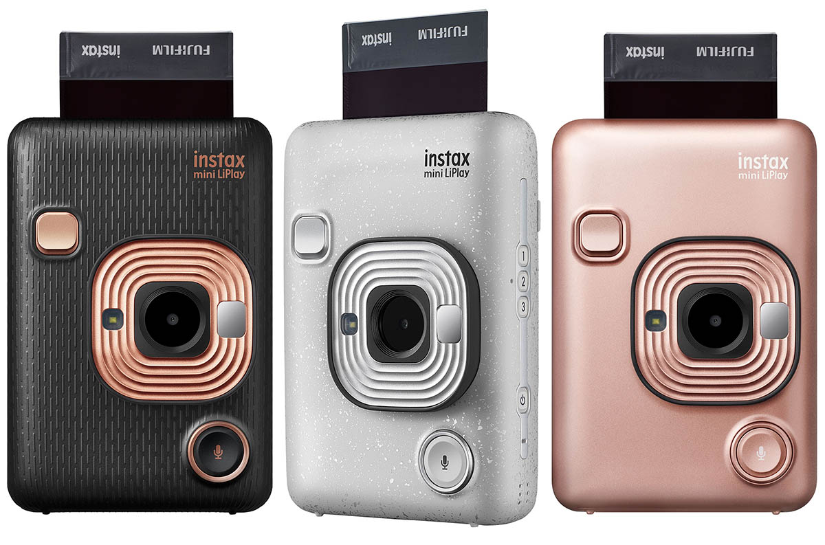 FujiFilm Launches Instax Mini LiPlay Digital-Printer Hybrid