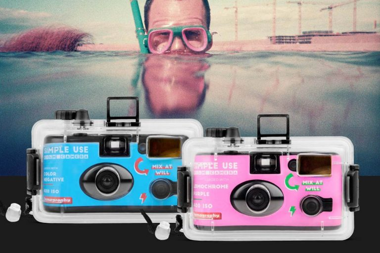 "Lomography Launches Waterproof ""Simple Use"" Camera"
